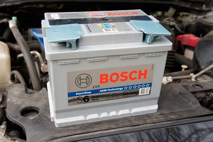 Наиболее популярны в России аккумуляторы Bosh