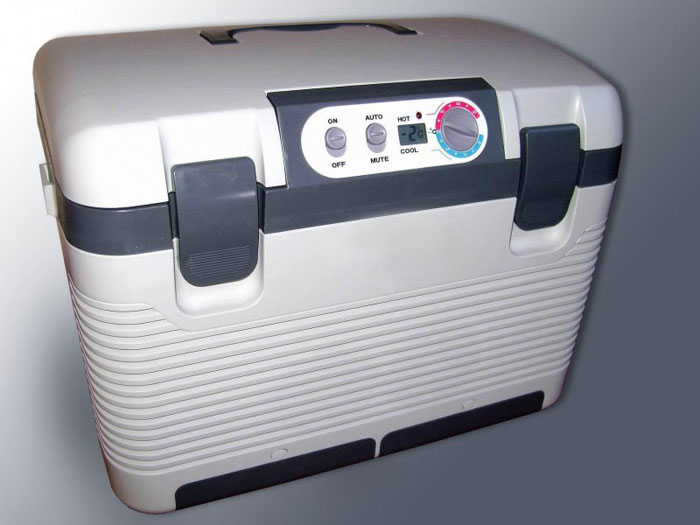 Электрогазовый (абсорбционный) автохолодильник
