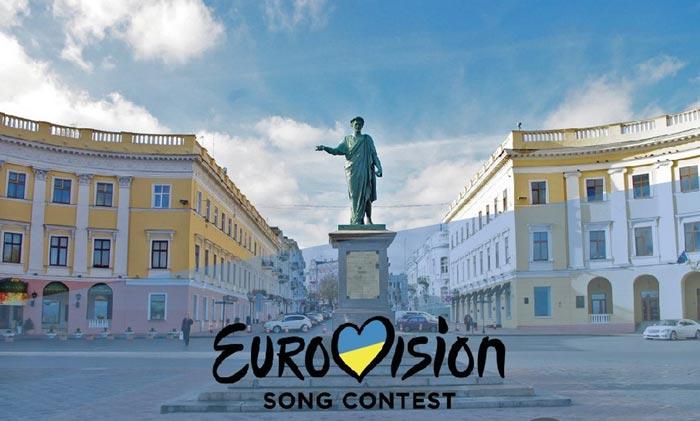 Наиболее вероятно, что участников Евровидения встретит город Одесса