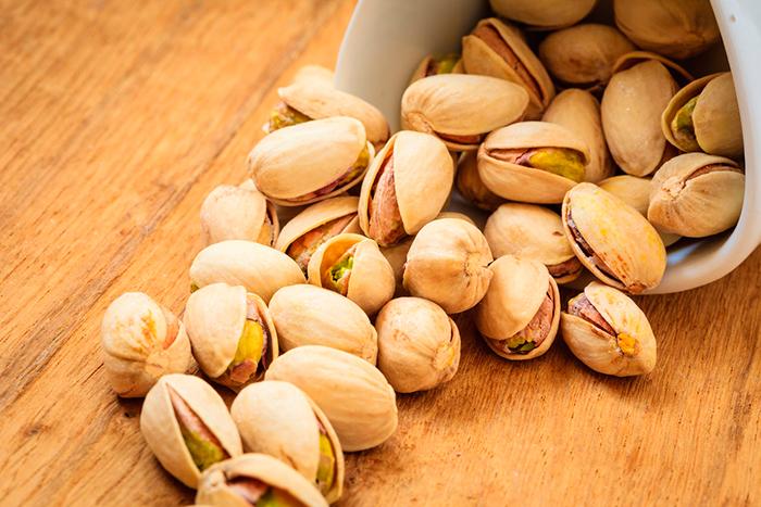 Регулярное употребление фисташек снижает уровень холестерина