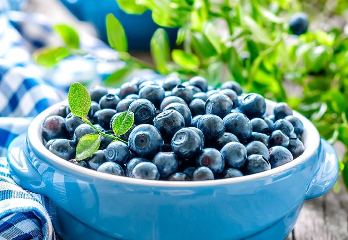 Голубика - богатая витаминами ягода