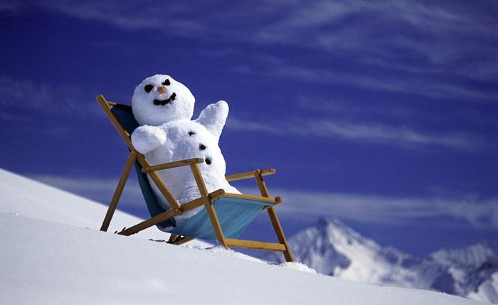 На протяжении всей зимы будет много солнечных дней