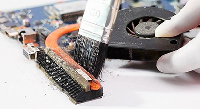 Загрязненное устройство будет давать сбои в работе