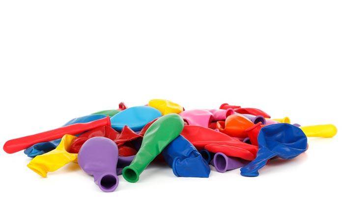Покупайте качественные шары одного размера и формы