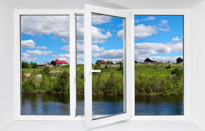 Пластиковые окна герметичны и просты в уходе