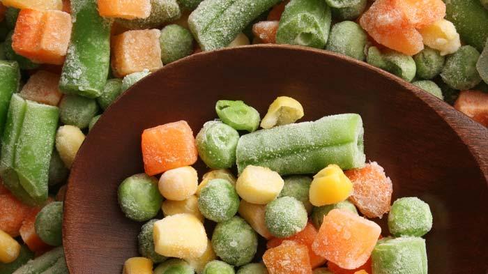 Никогда не замораживайте овощи повторно
