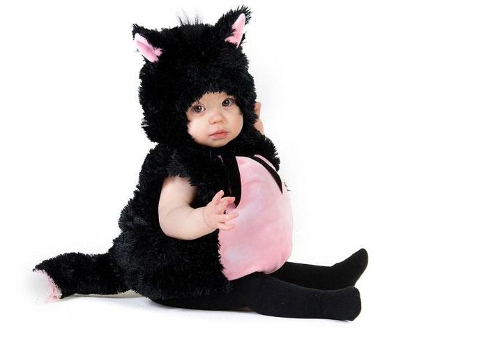 Костюм кошки для маленького ребенка