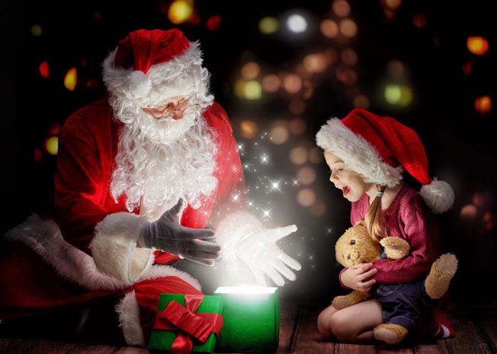 Обсудите с ребенком его желание, чтобы удостовериться. что Дед мороз сможет его выполнить