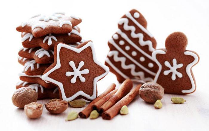Сделайте имбирное печенье различных форм