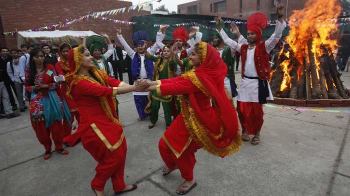 Народные гуляния в Индии