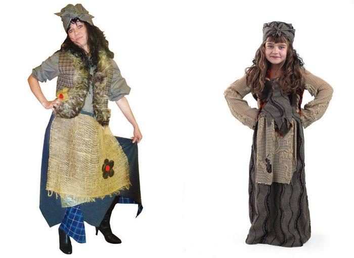 Идеи для костюма Бабы-Яги
