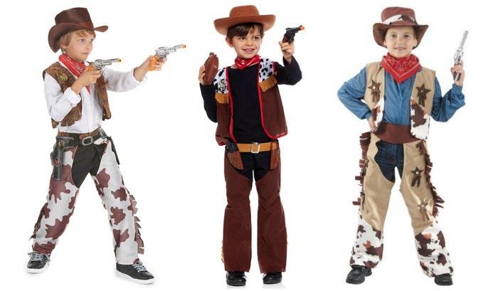 Костюм ковбоя отлично подойдет мальчикам разных возрастов