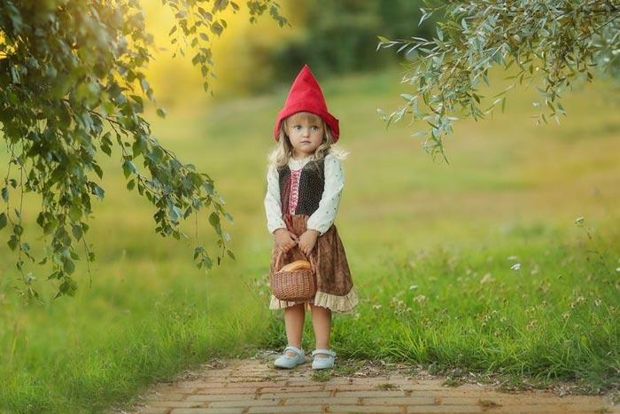 Костюм Красной Шапочки своими руками для ребенка. Как сделать костюм Красной Шапочки