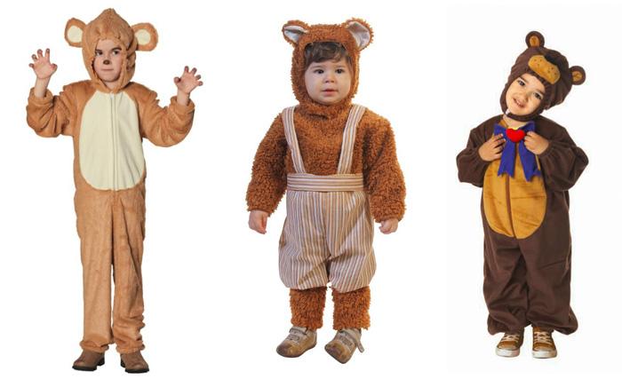 Костюм мишки для детей разных возрастов