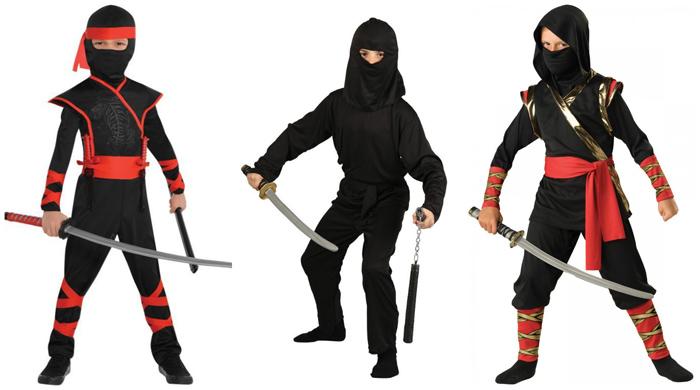 Вашему ниндзя понадобится меч или нож