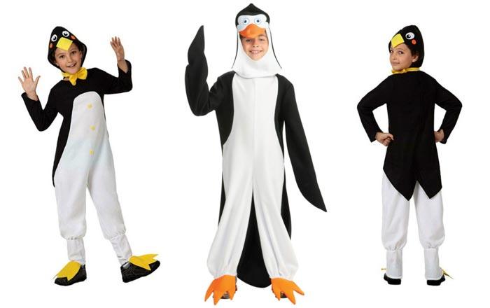 Костюм пингвина для детей школьного возраста