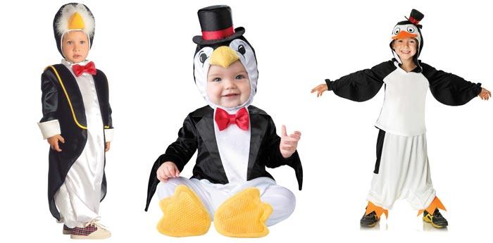 Костюм пингвина для детей младшего возраста