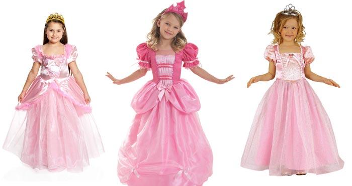 Вариант дизайна костюма принцессы