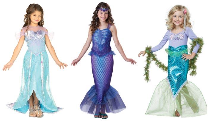 Идеи костюма русалочки