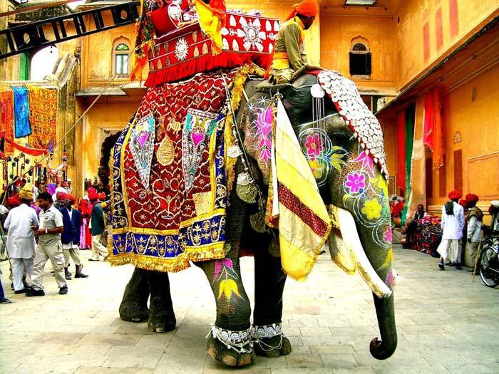Празднование нового года в Индии
