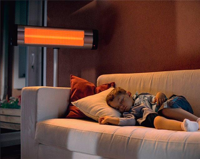 Инфракрасные обогреватели лучше всего подходят для обогрева квартиры