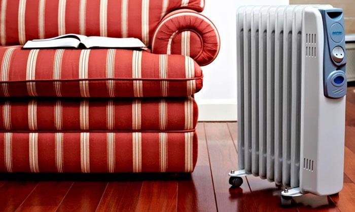 Масляные обогреватели чаще всего используются в квартирах