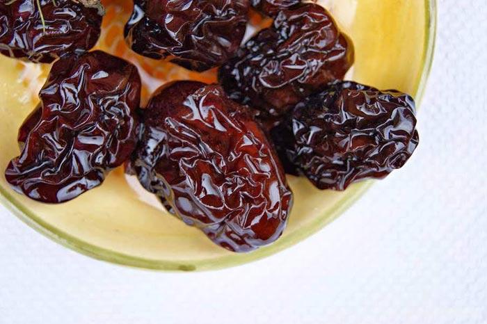 Сухофрукты - отличный постный десерт