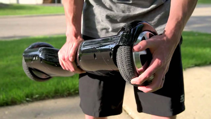 Гироскутер выдерживает вес более 100 кг