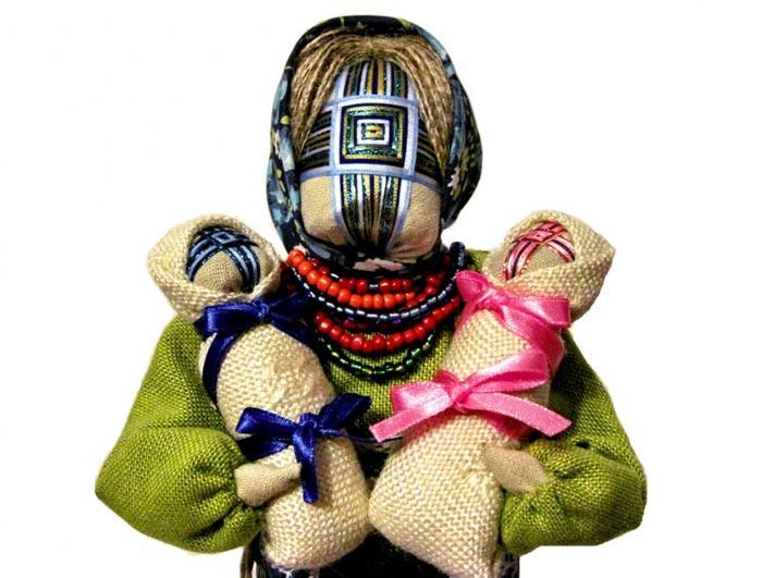 Кукла-мотанка  - старинный оберег славян