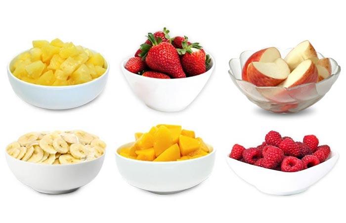 Фрукты лучше всего употреблять в пищу в первой половине дня