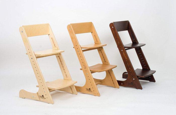 Деревянный стул ортопедический