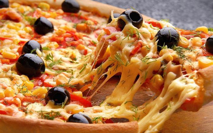 Сыр оттеняет вкус остальных компонентов начинки