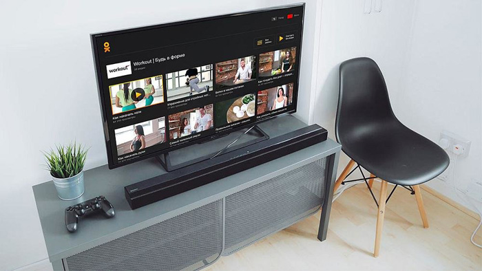 Если комната маленькая, не покупайте слишком большой телевизор