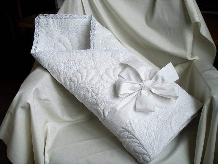 Теплый конверт для новорожденного
