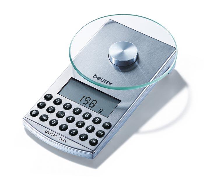 Электронные весы с круглой платформой
