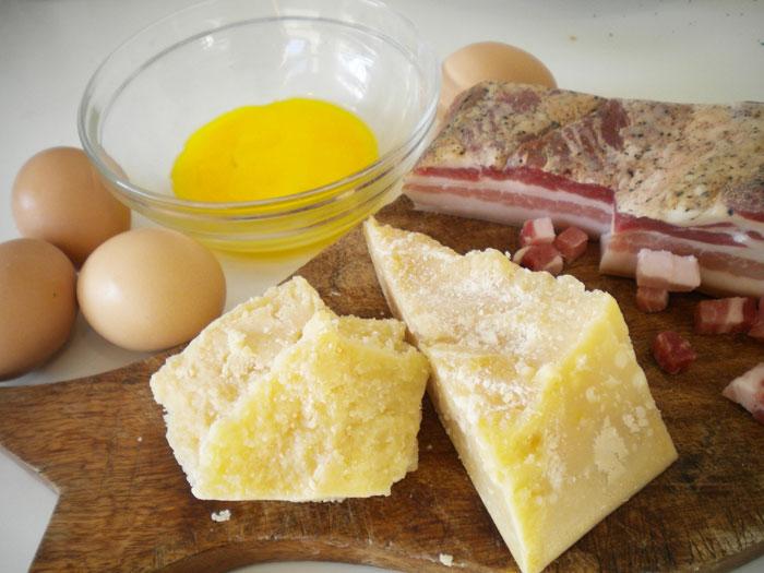 Продукты для приготовления пасты
