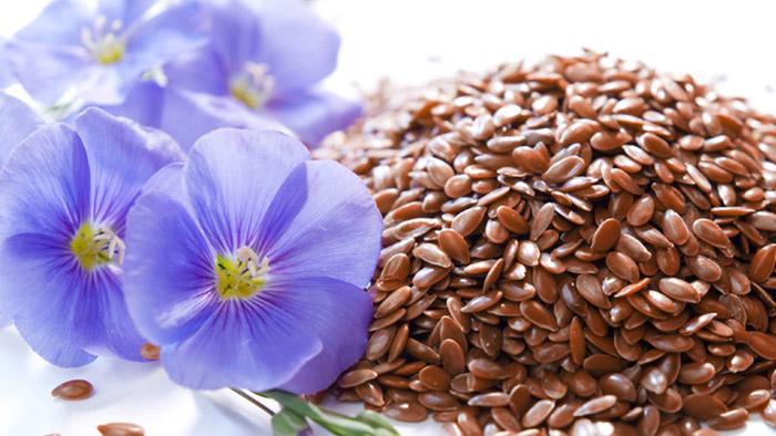 Льняное семя поможет очистить кишечник