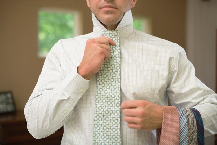 Выбирайте галстук, учитывая его длину