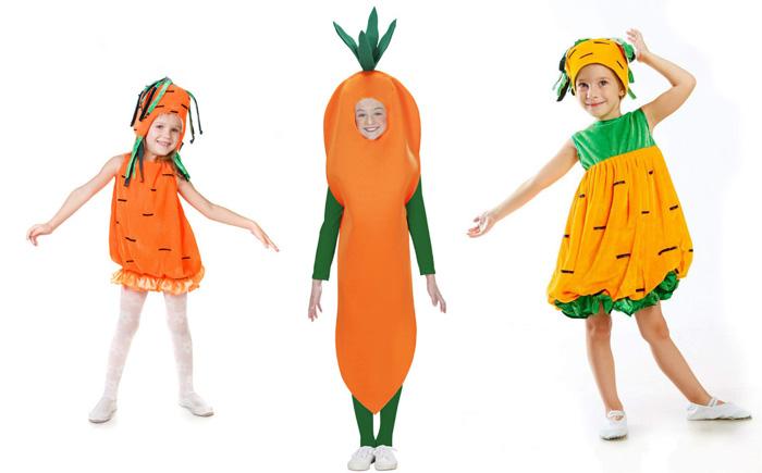 Идеи создания костюма морковки