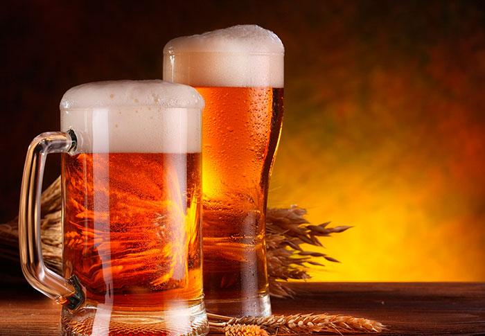 Пена у хорошего пива должна быть однородной