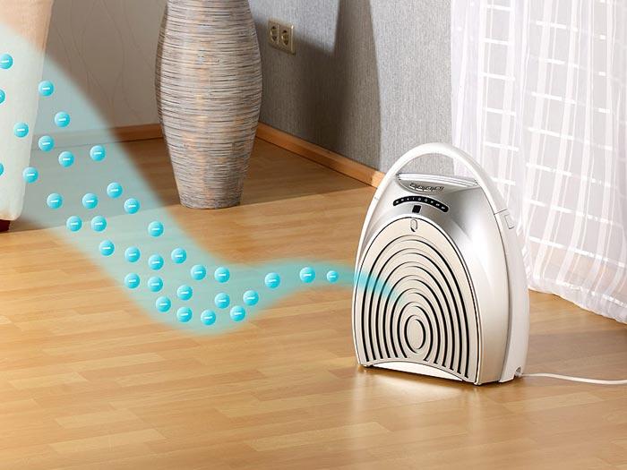 Учитывайте размер комнаты при выборе очистителя