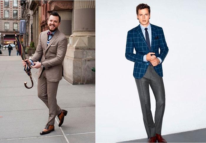 Длина брюк зависит от обуви, с которой их будут носить