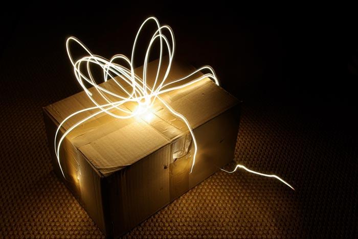 Приятным будет подарок-сюрприз