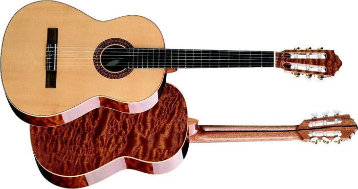 Новичку лучше начинать обучение на классической гитаре