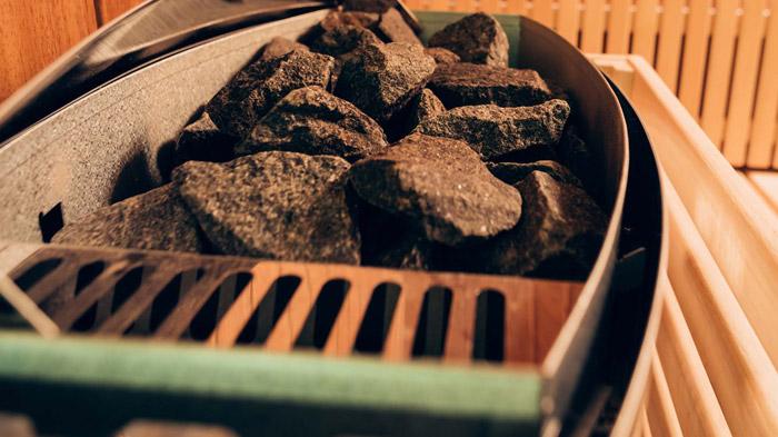 Камни должны быть прочными, чтобы выдерживать перепады температур