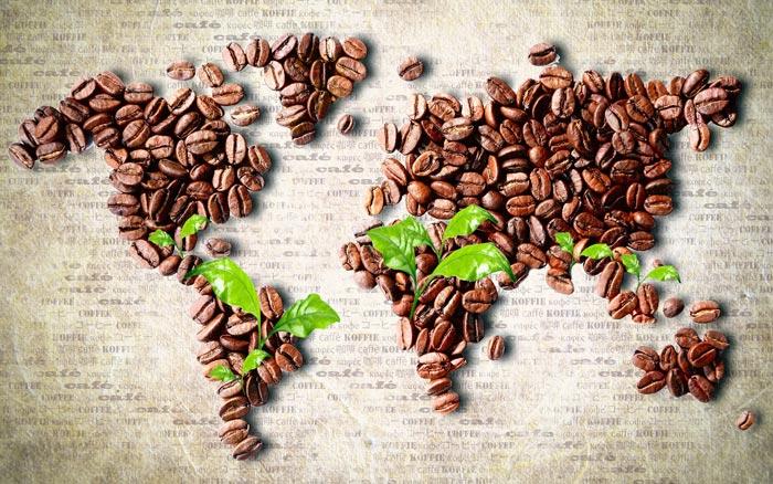 Кофе из разных стран имеет разный вкус