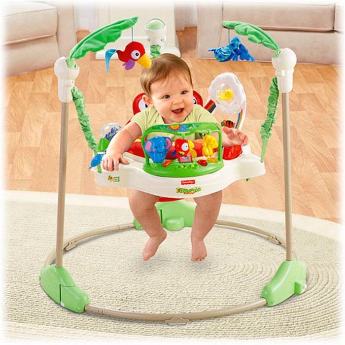 Оптимальный возраст для использования прыгунков - от 7 месяцев