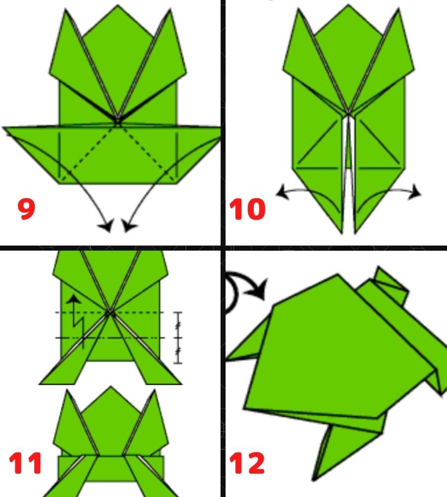 Схема сборки лягушки