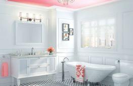 Краска для потолка в ванной: главные факторы выбора отделки