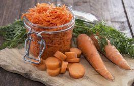 Вкусные заготовки моркови на зиму